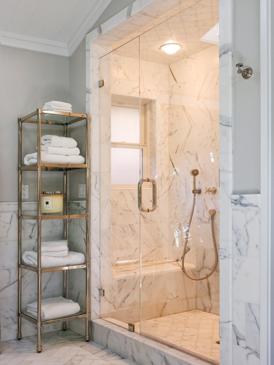 Bathrooms inspiration gallery vaughan marble - Carrara marble bathroom designs ...